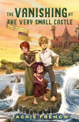 The Vanishing at the Very Small Castle (The Butter O'Bryan Mysteries, #2)