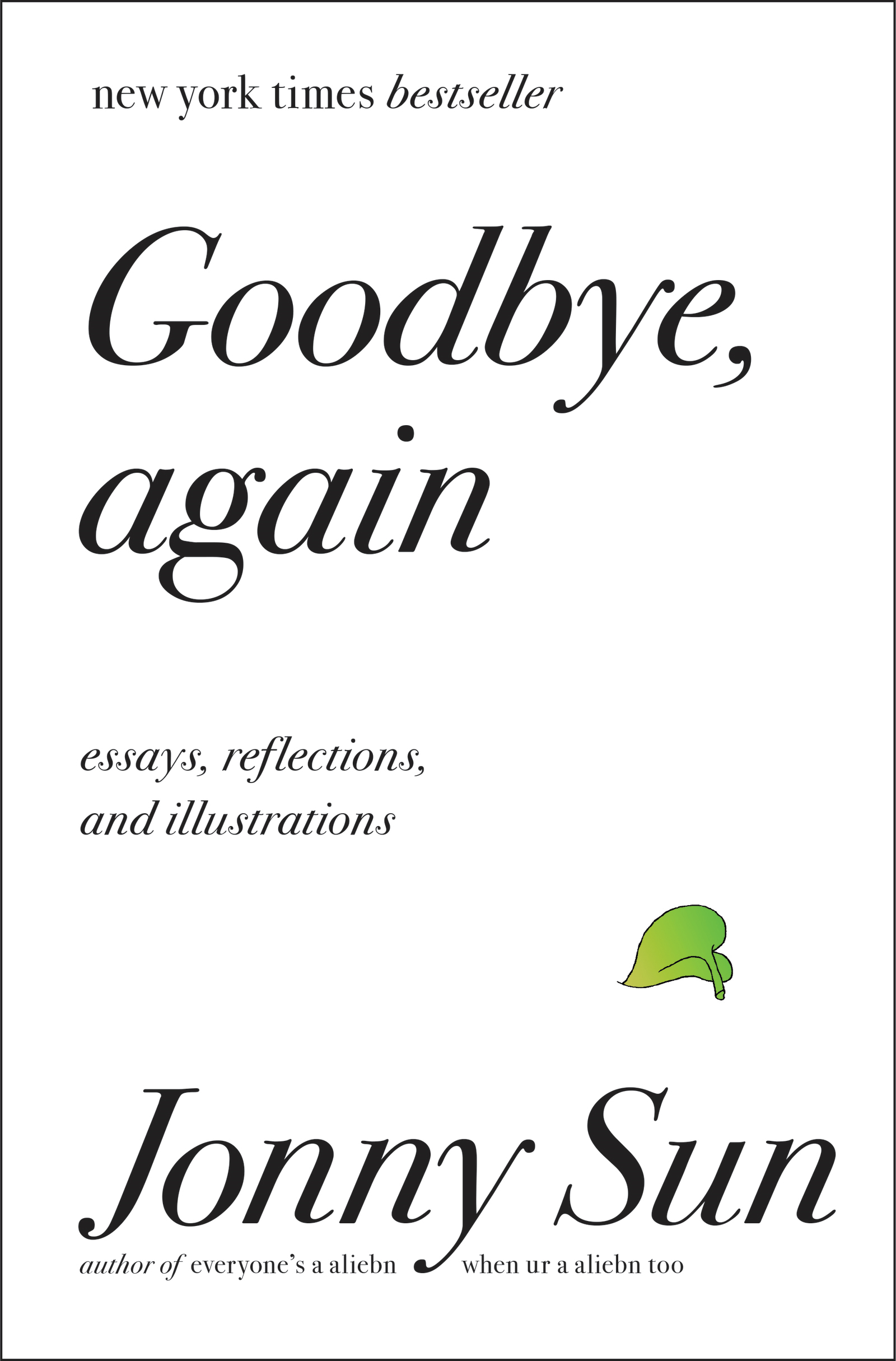Goodbye, Again