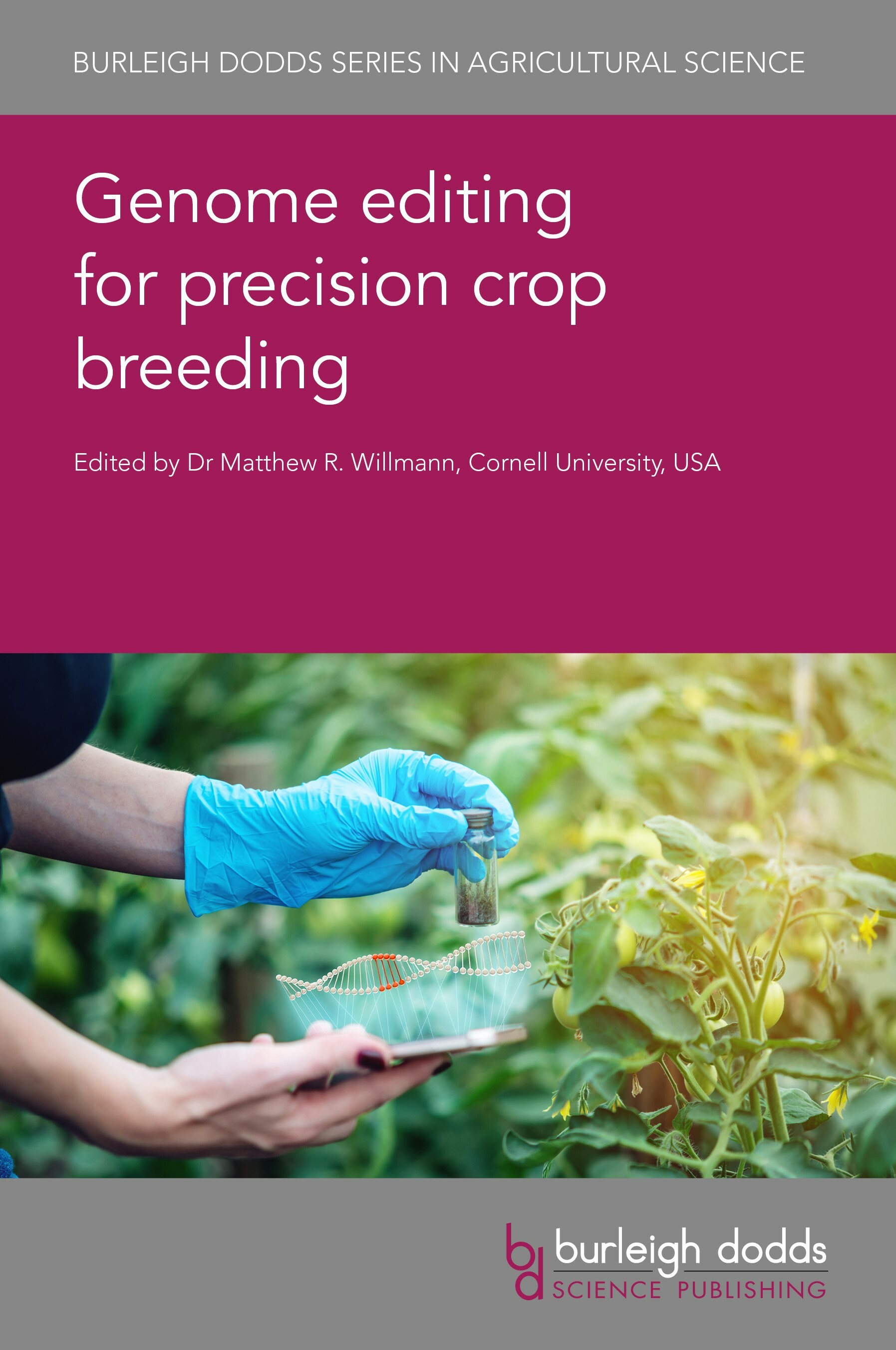 Genome editing for precision crop breeding