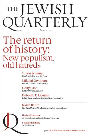 Jewish Quarterly 244 The Return of History